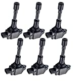 ENA Pack of 6 Ignition Coils Compatible with...