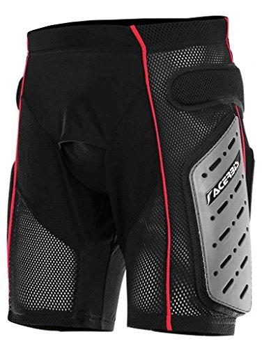 Acerbis Freemoto 2.0 Shorts schwarz L (Protektoren) / Reithose Shorts Freemoto 2.0 schwarz L (Body Armour Unterwäsche)