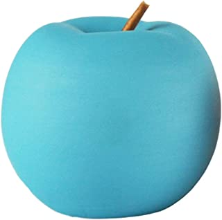 Hoobar Ceramic Apple Figurines,Creative Colorful Porcelain Apples Ideal Gifts for Wedding Birthday Christmas and Home Deco...