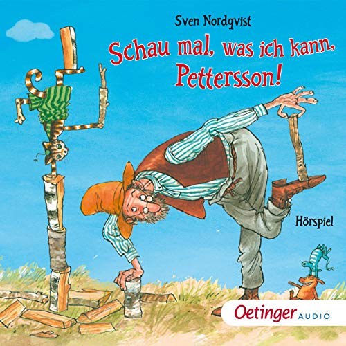 Schau mal, was ich kann, Pettersson! audiobook cover art