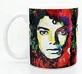 Tazza da caffè Michael Jackson Tazza da 11 once Opera firmata dal titolo Studio Michael Jackson 1