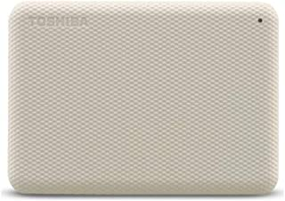 Toshiba 1TB Canvio Advance Portable Hard drive USB 3.2 Gen 1 With Automatic Backup,Light beige -HDTCA10EW3AA