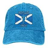 LanKa Ecosse Rugby avec Drapeau écossais Hommes Femmes Réglable Coton Denim Casquette de Baseball Hip Hop Chapeaux
