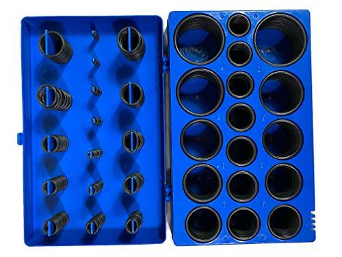 Kraftwelle O-Ring Set 408-teilig 34 Größen O Ring Dichtung Gummi Dichtungsring Kfz Dichtungsgummi