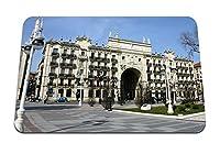 22cmx18cm マウスパッド (サンタンデールグルポサンタンデールスペイン金融サービス銀行) パターンカスタムの マウスパッド
