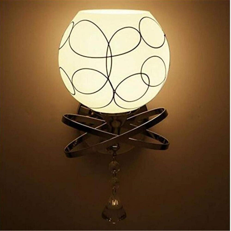 Kronleuchter Kronleuchter Kunst-Lampen Retro Hngelampe Deckenleuchte Amerikanische Led Wandleuchten Nachttischlampe Schlafzimmer, A, 15  28Cm Wandleuchten [Energieklasse A ++]