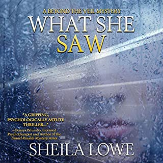 What She Saw     Forensic Handwriting Mysteries              By:                                                                                                                                 Sheila Lowe                               Narrated by:                                                                                                                                 Aria McKenna                      Length: 11 hrs and 56 mins     28 ratings     Overall 3.9