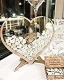 Personalized Wedding Guest Book Wedding Drop Box Wooden Rustic Wedding Decor Alternative Guest Book...