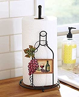 The Wine-Themed Paper Towel Holder