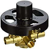 Moen 2570 Rough-In Posi-Temp Pressure Balancing Cycling Shower Valve with Stops, 1/2-Inch CC