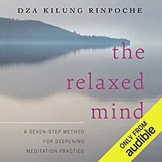 The Relaxed Mind audiobook cover art