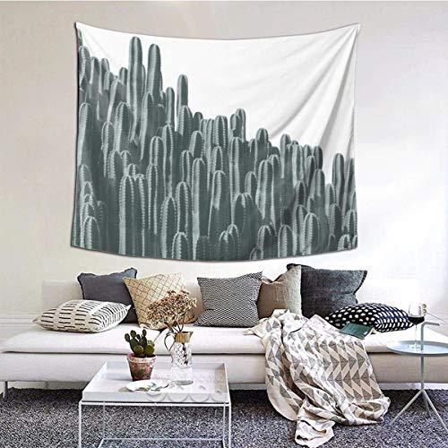 N\A Tapiz de Arte de Cactus, Tapiz de Ropa de Cama para Colgar en la Pared, decoración del hogar para Sala de Estar, Dormitorio, Dormitorio, decoración en