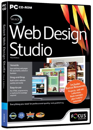 Select Web Design Studio 3 Edizione (PC) [Versione Inglese]