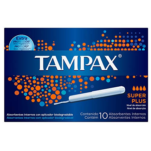 Absorventes Internos Tampax Super Plus, 10 Unidades, Multicor