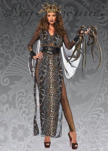 Disfraz de Diosa Medusa Deluxe para Mujer S (UK 8-10)