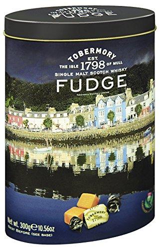 Gardiner´s of Scotland Tobermory Malt Whisky Fudge – 300 g – Handgemachte, weiche Whisky-Karamell-Bonbons