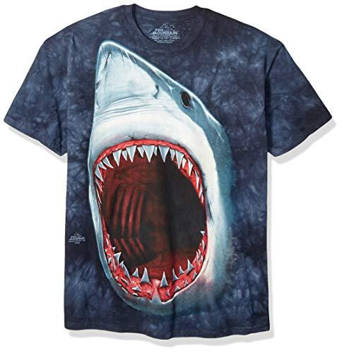 The Mountain Mens Shark Bite Short Sleeve Tee
