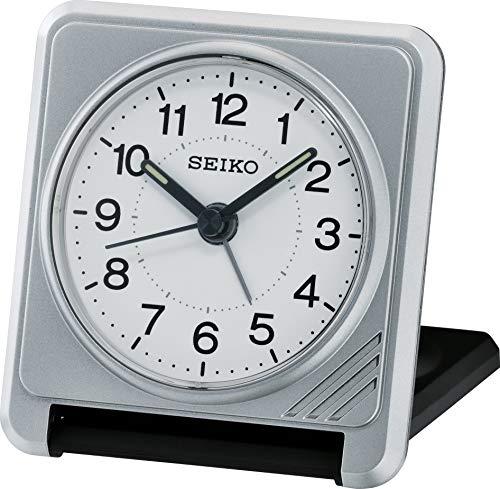 Seiko Reisewecker silber Kunststoff QHT015S