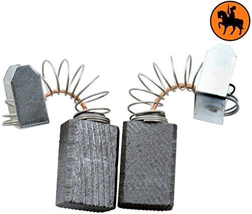 Kohlebürsten für MILWAUKEE DD2-160XE Hammer -- 6,3x10x15mm -- 2.4x3.9x5.9''