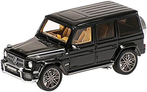 Brabus B63 620 Widestar, Schwarz 2012, Modellauto, Fertigmodell, Minichamps 1 43