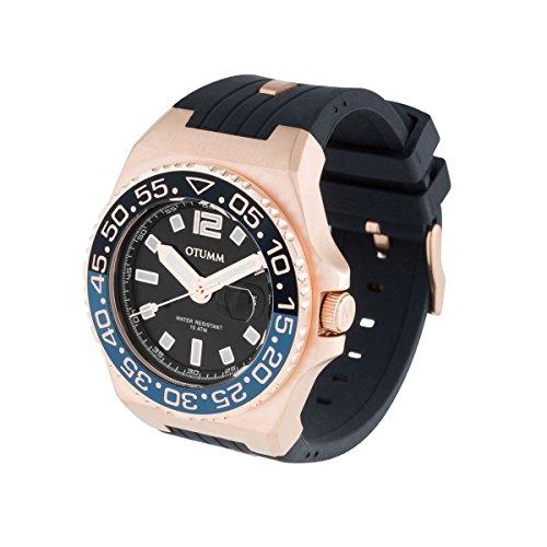OTUMM Herren-Armbanduhr Marina Analog Quarz Silikon 01833