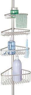 mDesign Organizador de ducha ajustable – Estante para