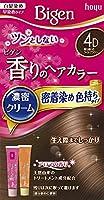 ホーユー ビゲン香りのヘアカラークリーム4D (落ち着いたライトブラウン) ×3個