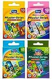 Kinder Pflaster Strips Bergmann Kinderpflaster Set, 40 x, Wasserabweisend, Hautfreundlich, Klinisch...