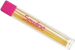 Sewline ソーライン シャープペンシル 専用替芯 6本入 0.9mm 黄 SEW50008