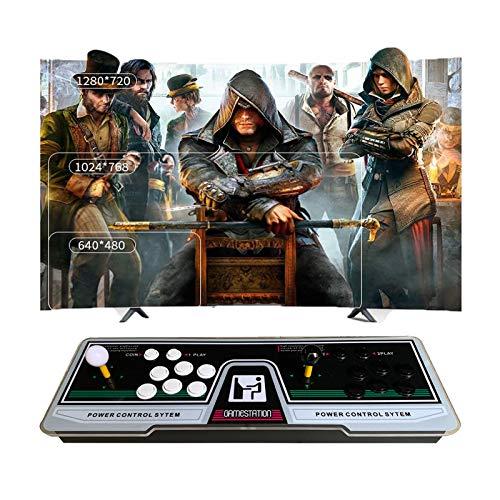 TANCEQI Pandoras Box 9S - Arcade-Kampfspiele, 4260 in 1, 4260 Classic-Spiele Joystick Spielkonsole, 1280x720 Full HD, Unterstützt PS3, Pielcontroller, HDMI und VGA Ausgang