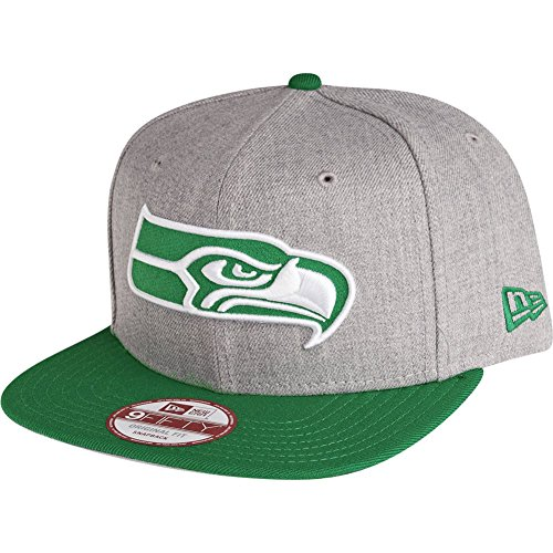 New Era 9Fifty Snapback Cap - Seattle Seahawks Gris/Vert