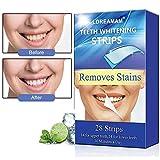 Strisce Sbiancanti,Teeth Whitening Strips,Strisce di Sbiancamento Dei Denti,Rimuove...