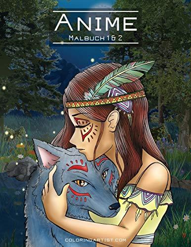 Anime-Malbuch 1 & 2