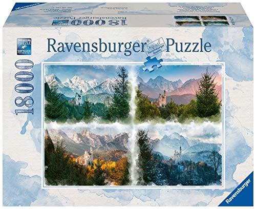 Ravensburger Puzzle 16137 - Märchenschloss in 4 Jahreszeiten - 18000 Teile