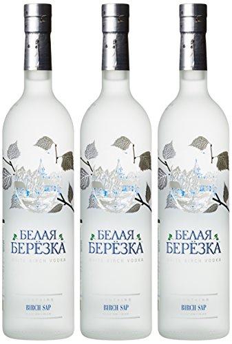 White Birch Russian Vodka (3 x 0.7 l)