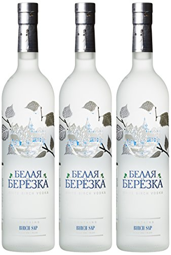 White Birch Russian Vodka (3 x 0.7 l)