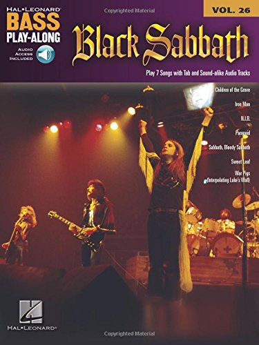 Bass Play-Along Vol.26 Black Sabbath