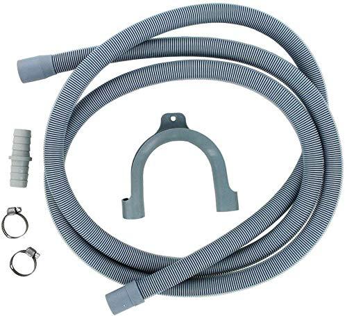 Utiz Drain Hose Extension Pipe Kit 2.5m For Washing Machine Washer Dryer...
