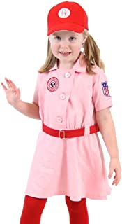 Rockford Peaches AAGPBL Baseball Girls Costume Dress