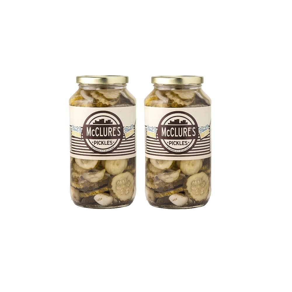 McClure's Bread Cheap Outstanding SALE Start n' Butter Pickles Chip oz 2 Pack Cut 32