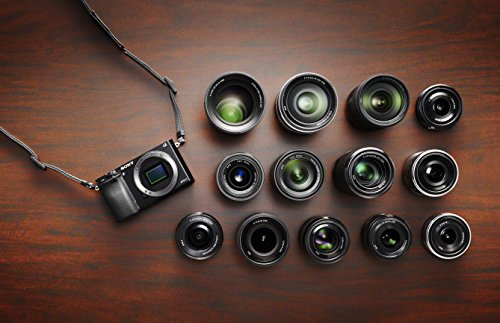 Sony Alpha 6000 Systemkamera (24 Megapixel, 7,6 cm (3) LCD-Display, Exmor APS-C Sensor, Full-HD, High Speed Hybrid AF) inkl. SEL-1670Z Objektiv schwarz