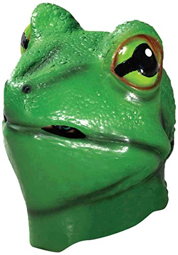 Forum Novelties Adult Deluxe Latex Animal Costume Mask - Frog