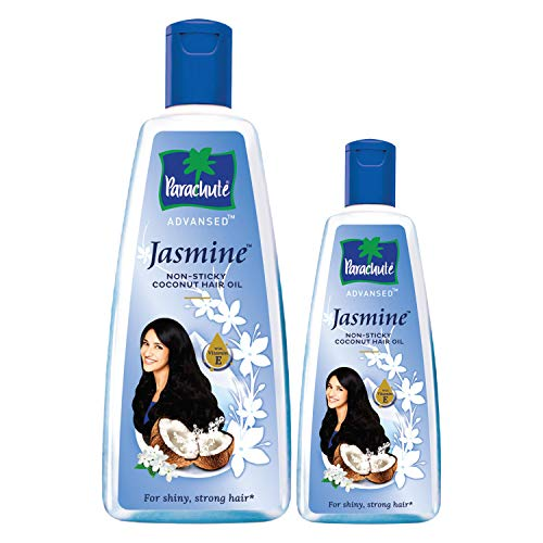 Parachute Advansed Jasmine, Coconut Hair Oil - 400 ml with Free 90 ml pack