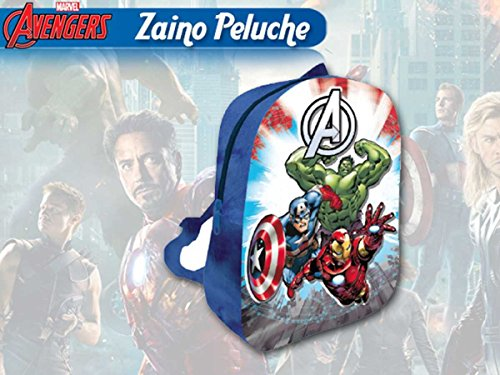 Sac à Dos en Peluche 3D Avengers 31 cm