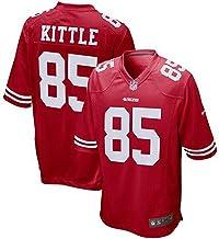 WSSW Majestic NFL Football San Francisco 49ers 85# George Kittle T-Shirt Jersey Bequem Und Atmungsaktiv Trikot,American Fo...