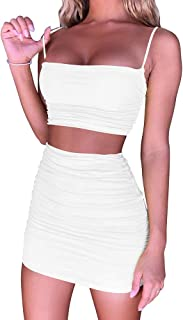 Best white skirt and white top Reviews