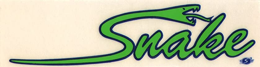 Sims Snake Old School Rare 70s Vintage Skateboard Sticker - 12cm wide approx. NOS Rare skate sk8