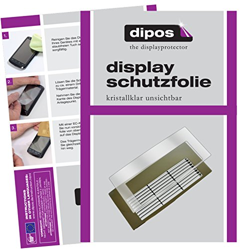 dipos I 2X Schutzfolie klar kompatibel mit Jura Z- Serie Z6 + Z8 Tropfblech Folie Displayschutzfolie