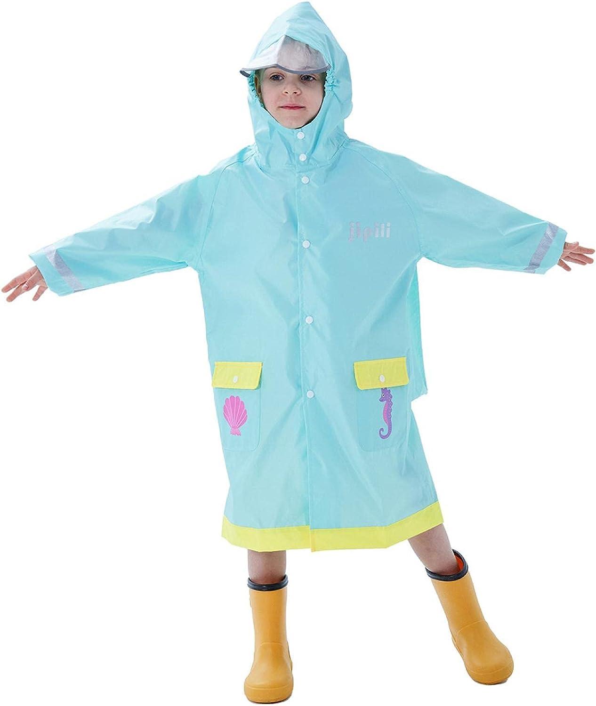 PINKPEGASUS Raincoats for girls, raincoats for children, raincoats for boys, raincoats for students, aged 2-11