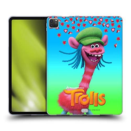 Head Case Designs Licenciado Oficialmente Trolls Tonelero Pack Snack Carcasa de Gel de Silicona Compatible con Apple iPad Pro 12.9 (2020)